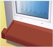 Kupić Parapety zewnętrzne aluminiowe , stalowe oraz stalowe okleinowane foilą PCV.