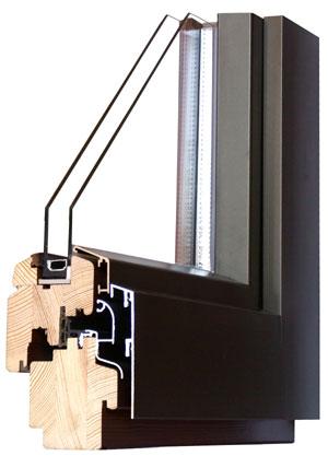 Kupić Okna STYLE 68-Alu, energooszczędne okna drewniano - aluminiowe