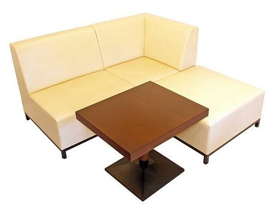 Kupić Sofa barowa Soho modułowy A+B+C i stolik barowy z podstawą metalową, loża barowa