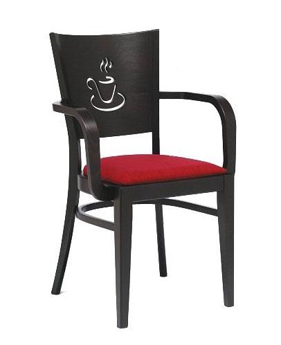 Kupić Fotel restauracyjny model BT-3917-V001, krzesła restauracyjne drewniane