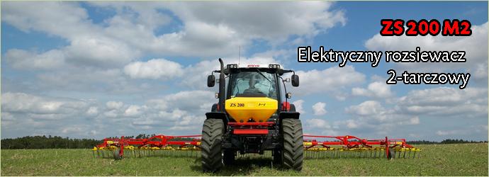 Kupić ZS 200 M2 Elektryczny rozsiewacz