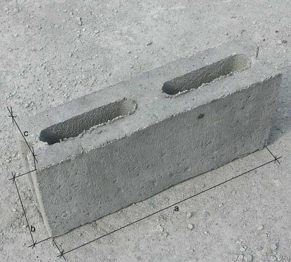 Kupić Pustak betonowy połówka
