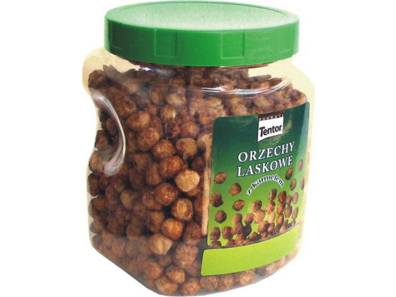 Kupić Orzechy laskowe w karmelu, waga 900g