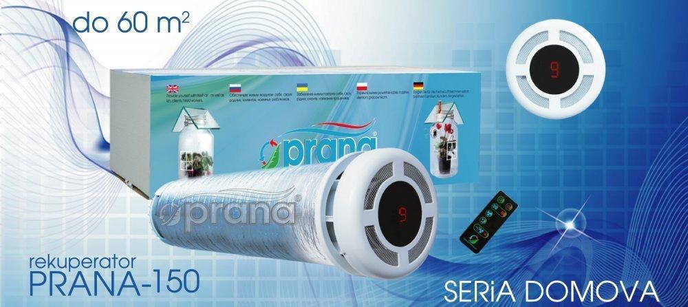 Kupić Rekuperator PRANA-150 - Wentylacja 115 m3/h