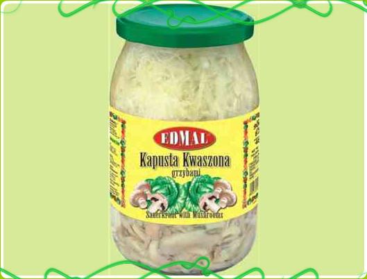 Kupić Kapusta kwaszona z grzybami