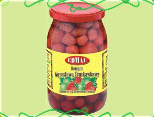 Kupić Kompot agrestowo-truskawkowy