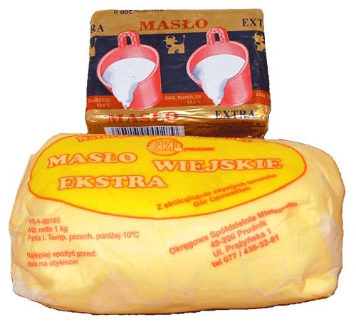 Kupić Masło extra kostka 200g