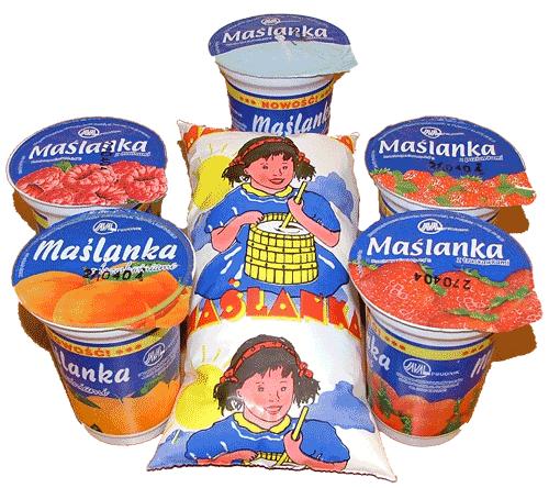 Kupić Maślanka naturalna folia 0,9 litra