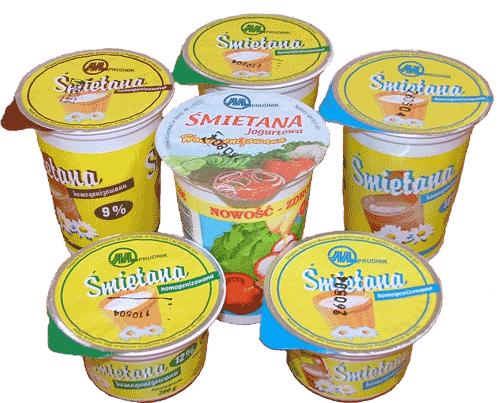 Kupić Śmietana jogurtowa 9% tł. kubek 400 g
