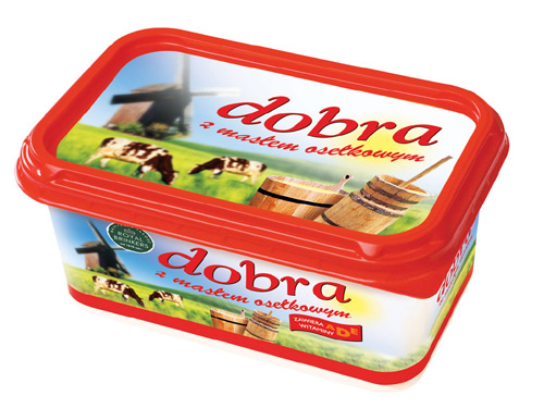 Kupić Margaryna Dobra z masłem osełkowym
