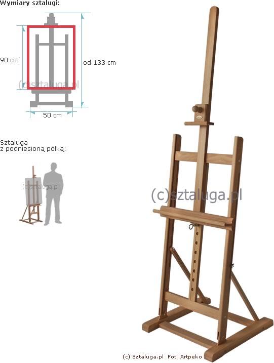 Kupić Sztaluga młodzieżowa (nr 58). Drewno bukowe 1-klasy