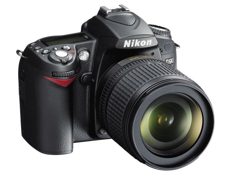 Kupić NIKON D90kit + obiektyw AF-S DX 18-105 VR na stanie