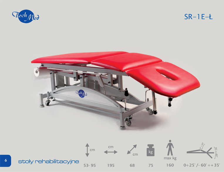 Kupić Stół Rehabilitacyjny SR-3E-Ł