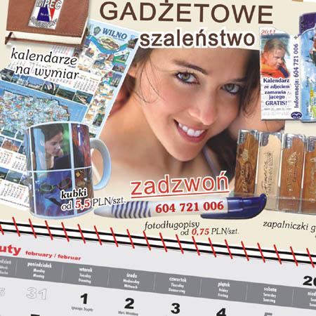 Kupić Kalendarze jednodzielne