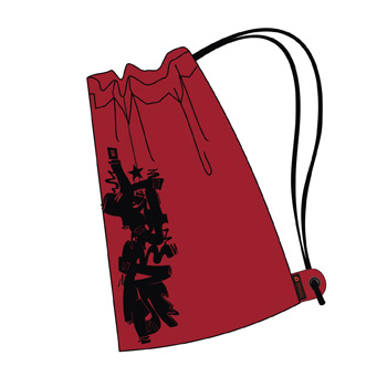Kupić Worek na obuwie HIT 142 G - Red