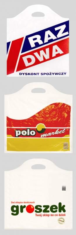Kupić Polietylenowa torba reklamowa Sinus