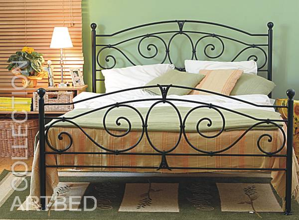 Metalowe łóżko Kute Do Sypialni Sylvia