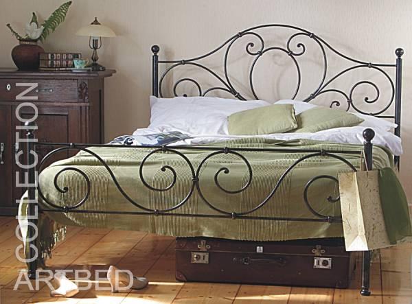 Metalowe łóżko Kute Do Sypialni Agnes