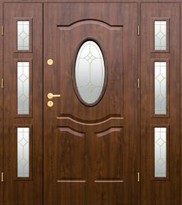 Kupić Drzwi stalowe KMT PLUS Z DOSTAWKAMI - zewnętrzne przeszklone