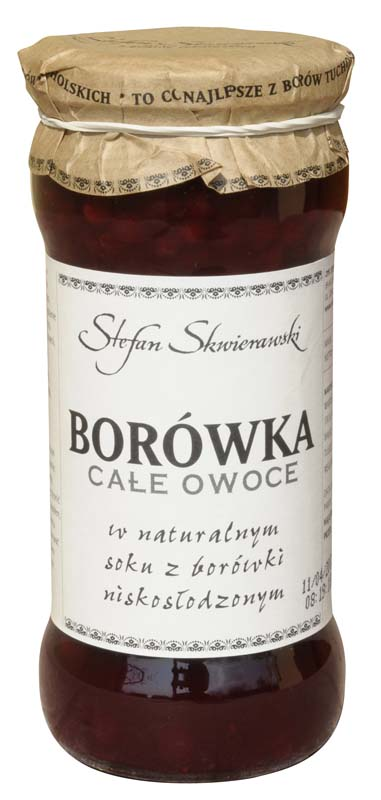 Kupić Borówka - całe owoce w soku 370 g
