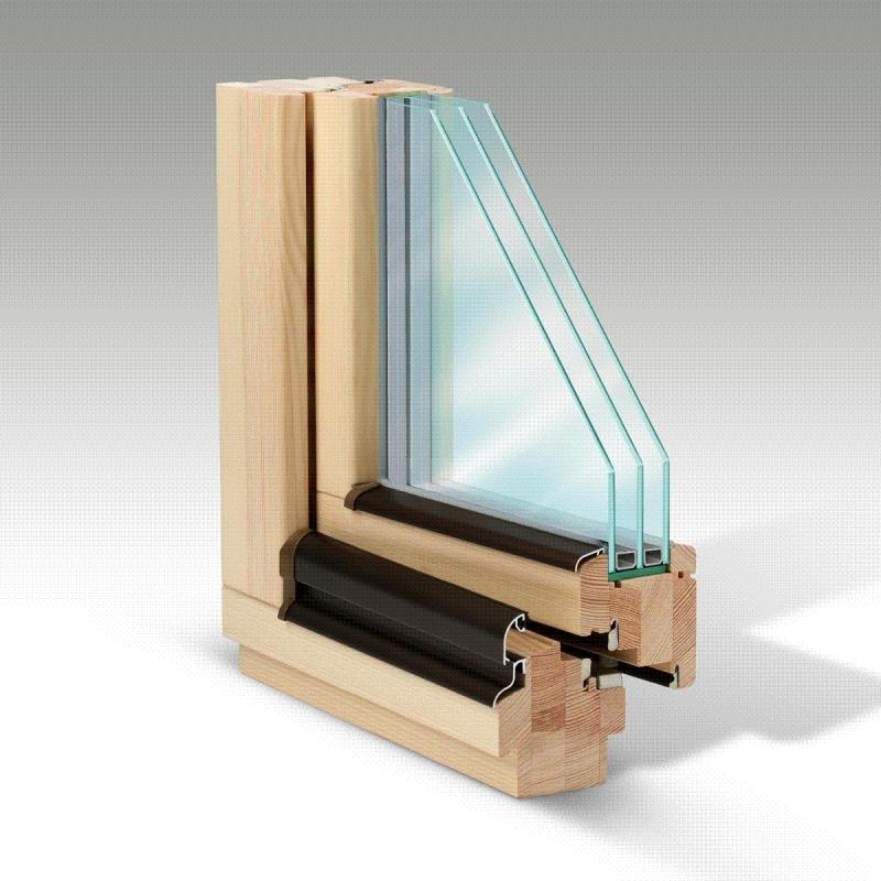 Kupić Okna drewniane pasywne