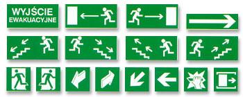Kupić Znaki ewakuacyjne
