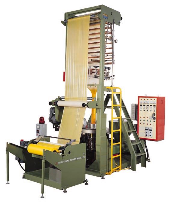 Kupić Maszyna wytłaczarka do produkcji folii HDPE Model KMH-40U SPECIFIKACJA