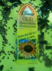 Kupić Olej słonecznikowy tłoczony na zimno