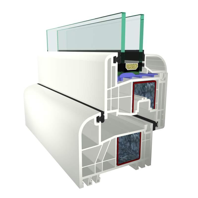 Kupić Okna PCV S 3000 5-komorowy prosty