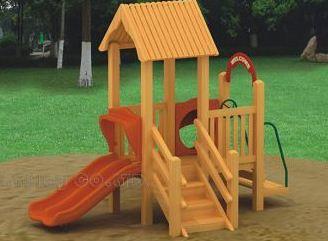 Kupić Plac zabaw drewniany