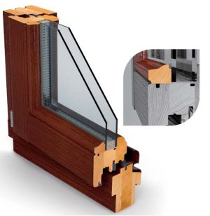 Kupić Okna drewniane profil RETRO
