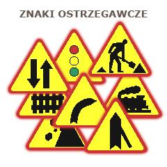 Kupić Znaki ostrzegawcze