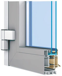 Kupić Okna aluminiowe Aliplast ciepłe