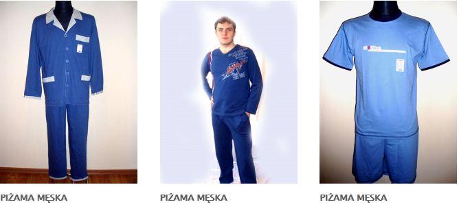Kupić Piżamy męskie