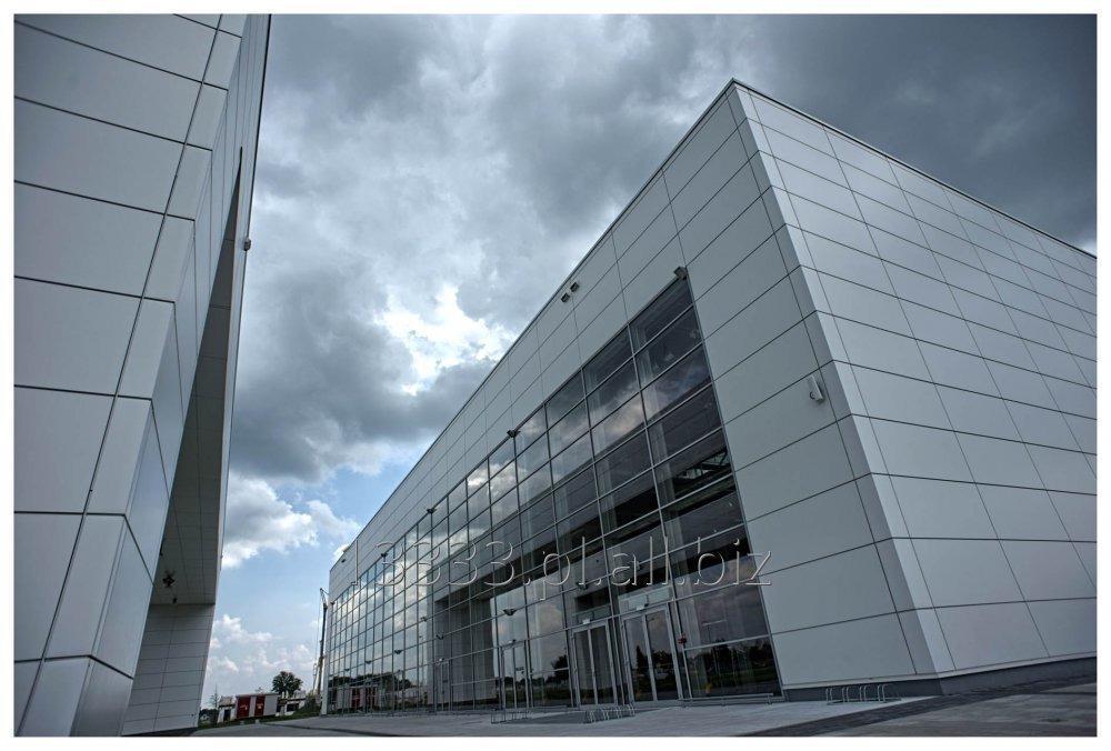Systemy fasadowe aluminium