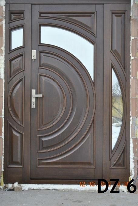 Kupić Drzwi zewnętrzne dębowe