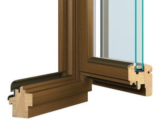 Kupić Okna drewniane Meranti i Sosna Softline-68