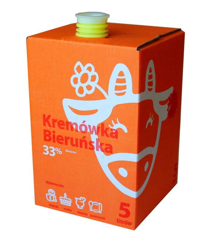 Kupić Kremówka Bieruńska UHT 33%