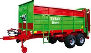 Rozrzutnik Tytan 10 Plus 6,5 - 8 t