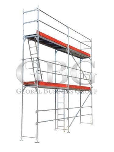 Kupić Rusztowania GBG L73/rusztowanie typu Layher - 2,57 pow. 169m2