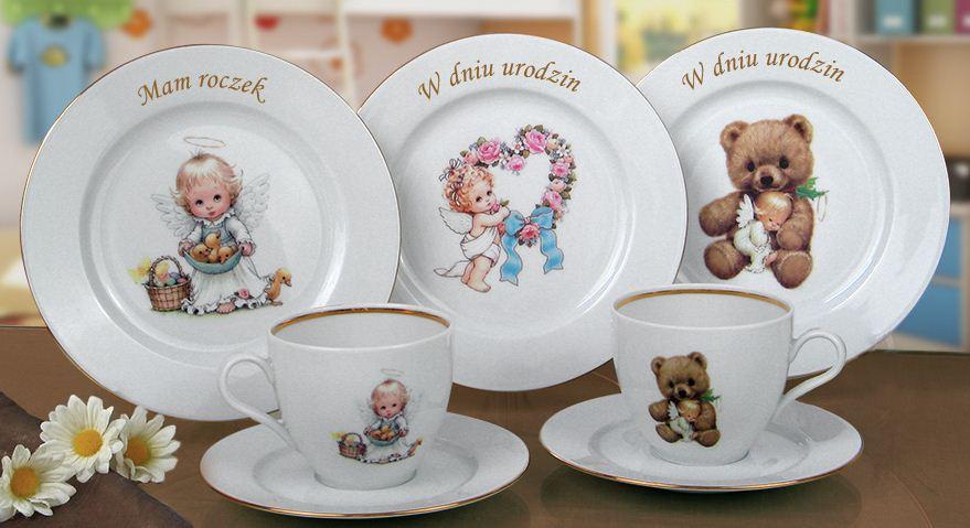 Kupić Ciekawe, kolorowe zestawy dziecięce wykonane z ceramiki