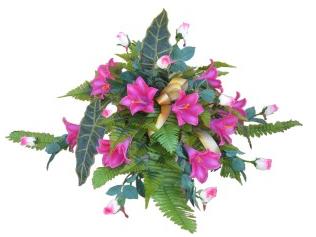 Kupić Kompozycje kwiatów sztucznych. Hurtowa sprzedaż.