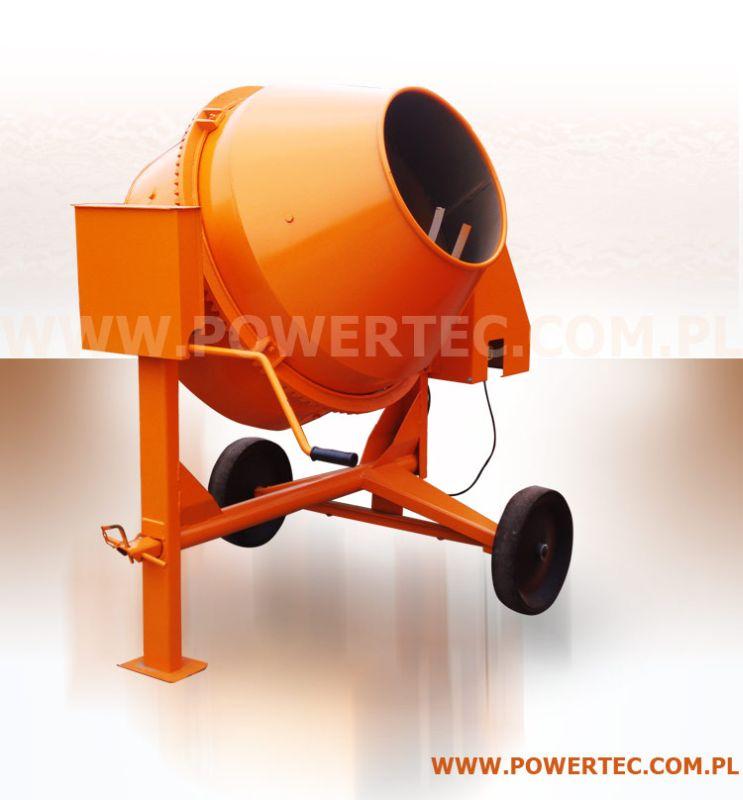 Kupić Copy_BETONIARKA POWER TEC 200/230V/O - Zaawansowana betoniarka o zwiększonej wytrzymałości.