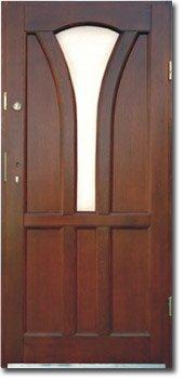 Kupić Drzwi zewnętrzne - Drewno
