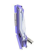 Kupić Profile do okien, drzwi, konstrukcji przestrzennych- Profil PONZIO- NT 52