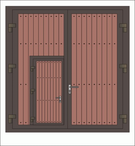 Kupić Drzwi stalowe garażowe