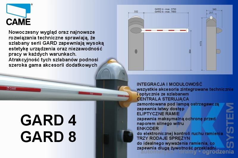 Kupić Szlabany GARD 4 / GARD 8