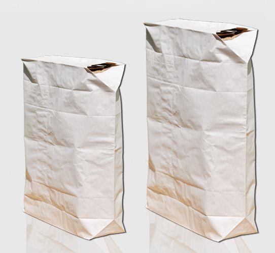 Kupić Worki papierowe wentylowe do pakowania produktów żywnościowych.