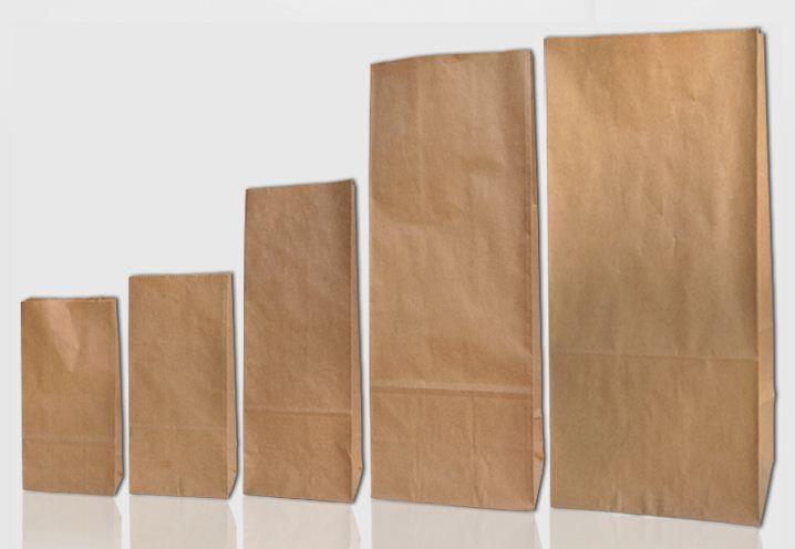 Kupić Torby papierowe do produktów spożywczych o max. wadze 5 lub 10kg.