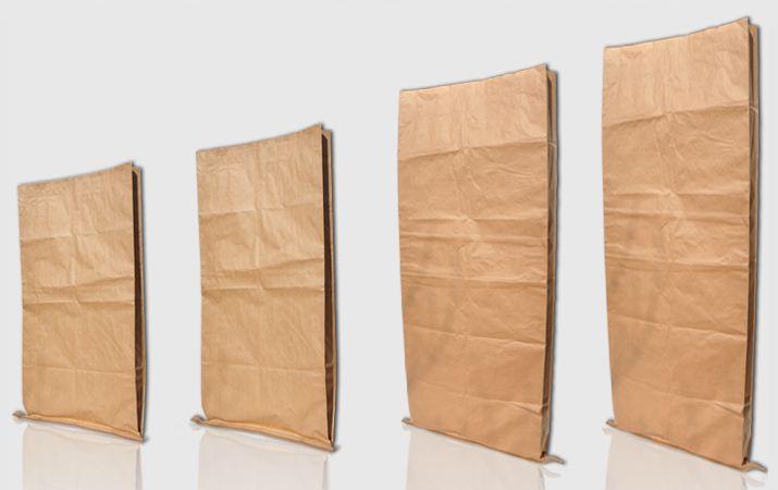 Kupić Worki papierowe szyte do produktów spożywczych, chemicznych i budowlanych.